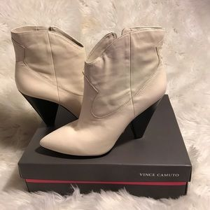 Vince Camuto Cream Movinta In Parchment Boot